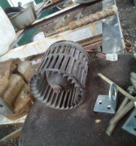 Мотор печки газель