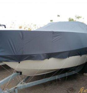 Транспортировочный тент для катера АКВАЛАЙН 210.