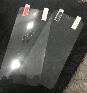 Пленка с золотым блеском для iPhone 6 Plus