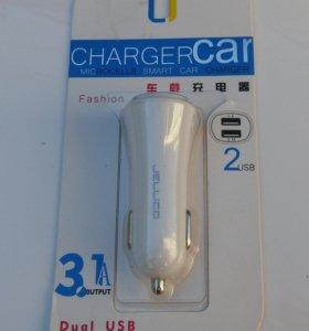 Автомобильное зарядное Jellico 3.1A Car Charger