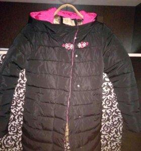 Куртка весна и теплая зима