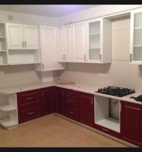 Кухонная мебель по эскизу от фабрики