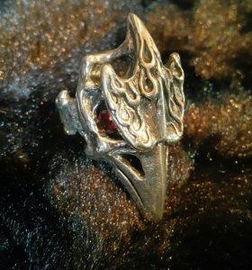 """Кольцо """"Птица"""" (серебро 925)"""