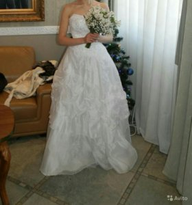 Свадебное платье размер 40-46