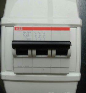 Автомат выключения тока 16-25А переделка на 63А