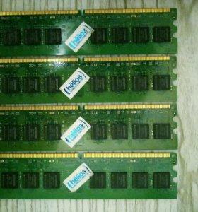 DDR2 4Gb (4*1Gb) для компьютера