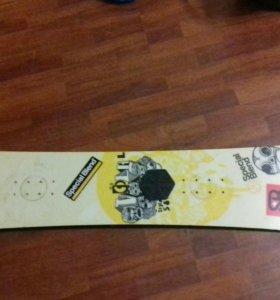 Доска для начинающих сноубордистов