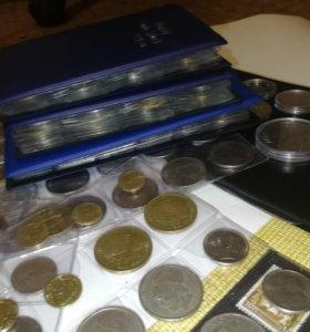 Монеты более 600 штук