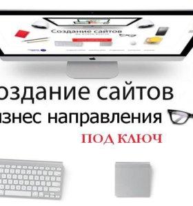 Разработка сайтов + Топ Яндекса в первую неделю.
