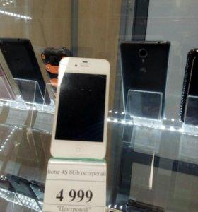 iPhone 4s. 8Gb