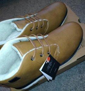 Зимние мужские ботинки,новые!