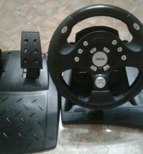 Джостик-руль DialogGW-11VR c педалями