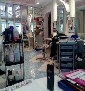 Работа парикмахера