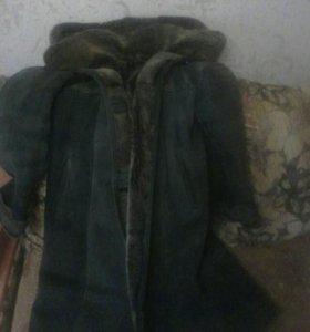 Пальто дубленка. (Срочно).