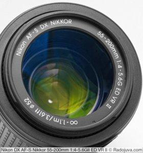 Объектив Nikor 55-200mm f:4-5.6