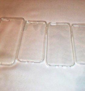 Чехлы силиконовые для iPhone