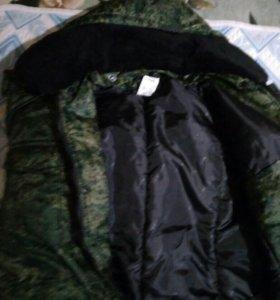 Полевая куртка зимняя