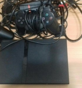 Sony Playstation 2 с дисками