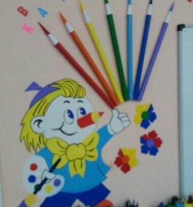 Увлекательные занятия ИЗО деятельностью для детей
