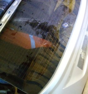 Заднее стекло Форд Фокус 2 хетчбэк