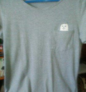 футболка с котом.