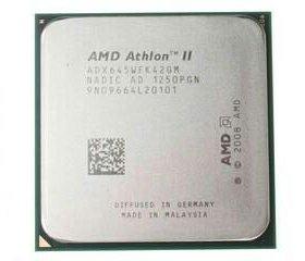 Athlon ii x4 645