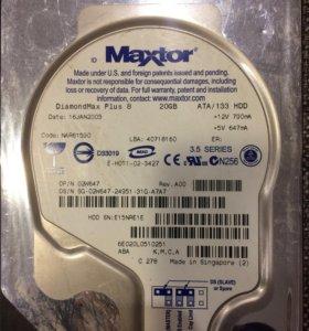 Жёсткий диск Maxtor 20Gb