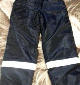 Мужские утепленные штаны