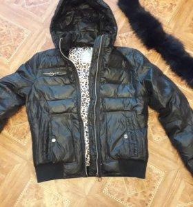 куртка на холодную осень/весну б/у размер 44