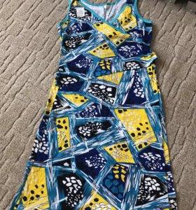Халат платье 46.