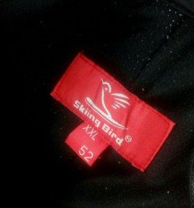 Горнолыжные брюки skiing bird из мембраны