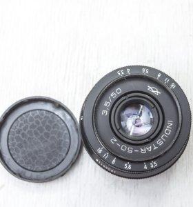 Индустар-50-2 №81108021 М42, совместимый с NIKON F