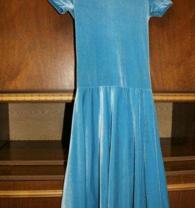 Платье для бально- спортивных танцев.
