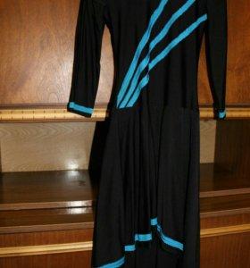 Платье тренировочное для бальных танцев.