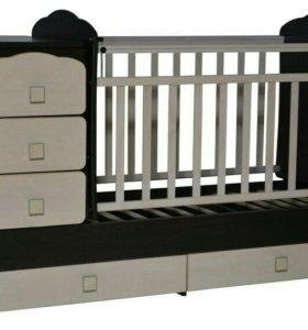 Кровать детская и матрас