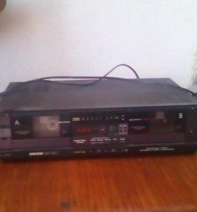 магнитофон Вега мп-122с без колонок  обмен