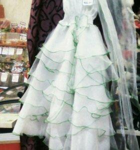 Платье ёлка