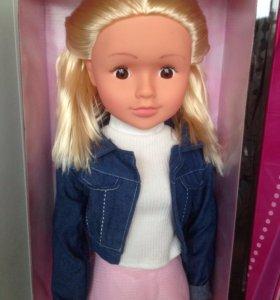 Шикарная новая куколка с ресничками