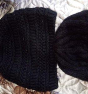 Шарф и 2 шапки