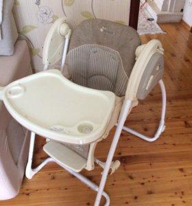 Детский стульчик - качели