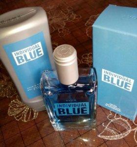 Туалетная вода  Individual Blue в наборе