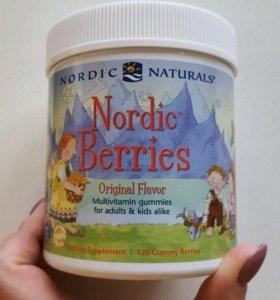 детские витамины нордик