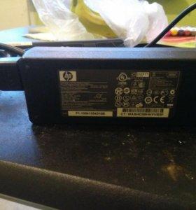 Зарядное устройство со шнуром для ноутбука Hp