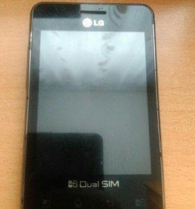 Телефон LG б/у