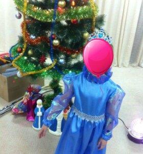 продам платье эльзы и костюм восточной красавицы