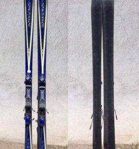 Горные лыжи Rossignol + крепления