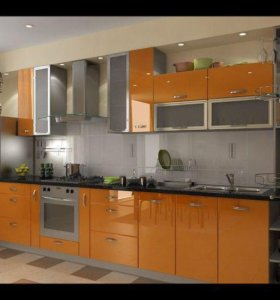 Набор кухонной мебели в наличии на заказ.