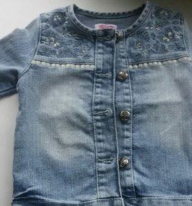 Куртка джинсовая для девочки.