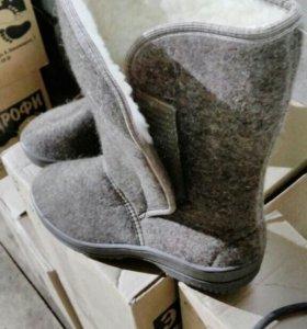 Войлочная теплая женская обувь