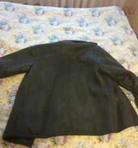 Куртка зимняя нат-кожа56-68